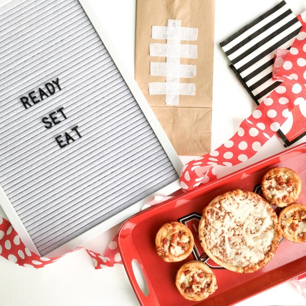 Ready Set Eat Letter Board - Game Day Quote - The Gifted Gabber