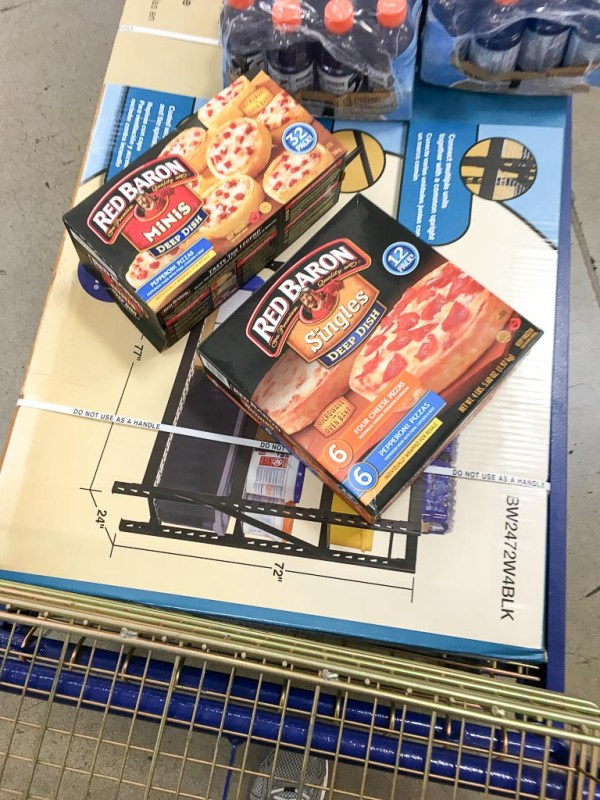 Red Baron pizza at Sam's Club - The Gifted Gabber