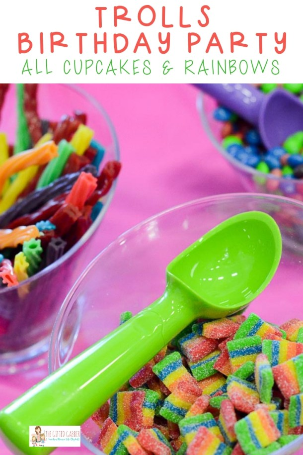 Planning A Trolls Birthday Party Check Out This Post For Fun Ideas The Cake