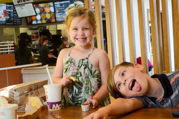 a playdate at McDonald's - A Look Back at My Time as McDambassador - The Gifted Gabber