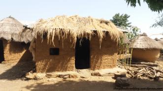 Clay huts
