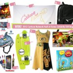 Giveaway: 2012 Cartoon Network Hall of Game Awards Celebrity Gift Bag, Just for Kids! Valued at $425!