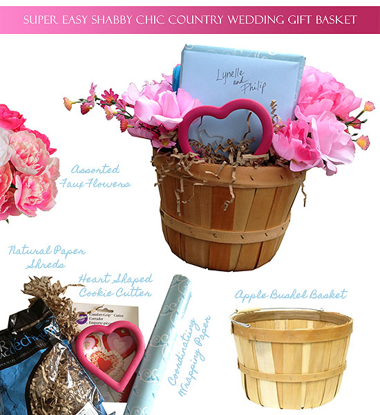 Gift Wrap 101: Super Easy Shabby Chic Country Wedding Gift