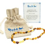 Curb Teething with Baltic Wonder Amber Teething Necklace for Babies