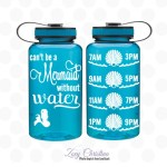 Drink Your Water Like a Mermaid with a Chic Water Bottle from Zoey Christina…