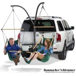 Up Your Game with The Tailgaters' Hammock from Hammacher Schlemmer