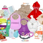 3 Giveaways! Enter to WIN products from our Jewels and Pinstripes Celebrity Babies First Christmas Gift Bag (GIRL)!
