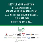 Donate Your Unwanted Items for Free Using Boxes from your Online Orders with Give Back Box!