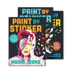 No Art Supplies Needed! Paint by Sticker Books…