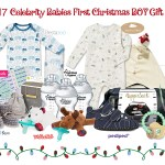 Giveaway: Enter to WIN a Jewels and Pinstripes Celebrity Babies First Christmas BOY Gift Bag!