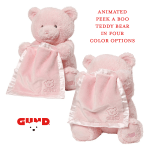 An Adorable Gift for the Holidays, Gund Peek-A-Boo Bear