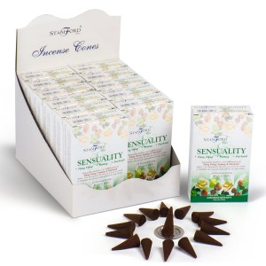 Stamford Hex Incense Cones - Sensuality