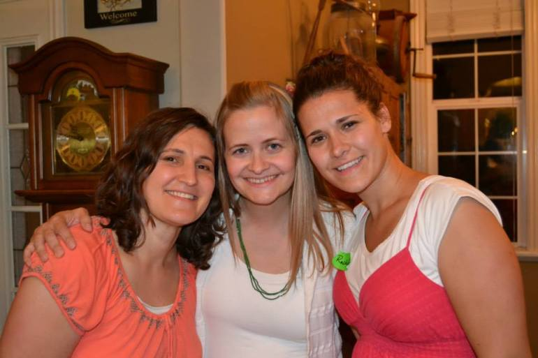 Robyn, Lani, and Robyn's sister