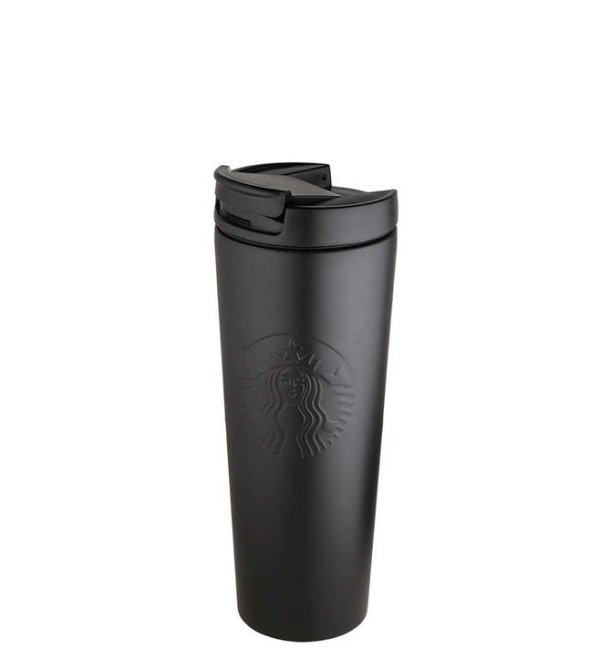 Starbucks Stainless Steel Etched Tumbler Black