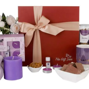 Fragrance Diffuser, Mug and Pistachio – Lavender Glory Hamper