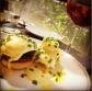 Eggs Benedict @ Om Made Cafe, Koramangla, Bangalore