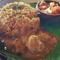 Nina aunty's mutton dhansak with brown rice @ Social offline