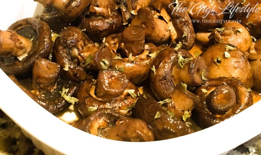 Easy Honey Balsamic Mushroom Recipe