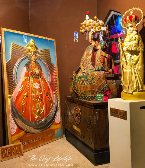 More icons from other countries depicting the Virgin Mary by herself and with the Child Jesus