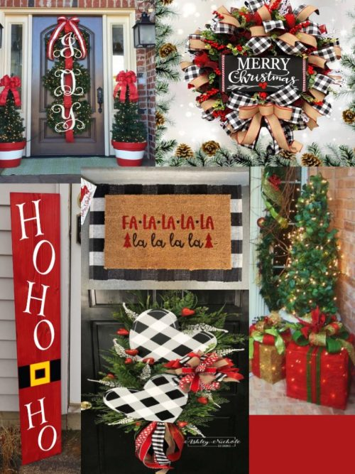 House decorating for Christmas on a Budget