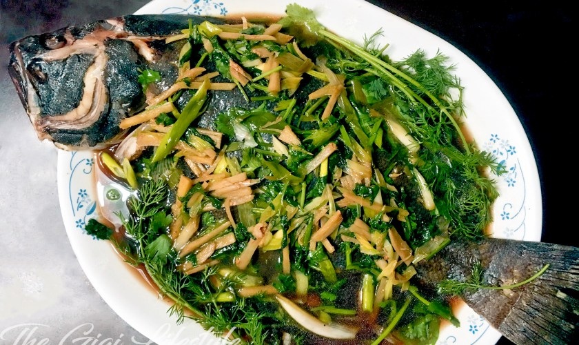 Jessup Fresh Fish Market and a Chinese Steamed Fish Recipe