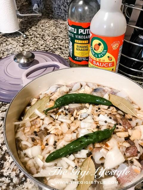 Layered ingredients