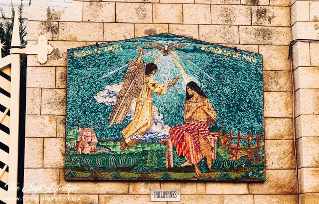 The Annunciation mosaic from the Philippines