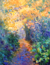 Autumn Trail by Bev Drew Kindley at Fairweather's