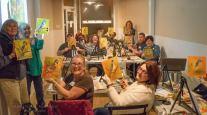 Vino Van Gogh (tm) debuts in the Gilbert District