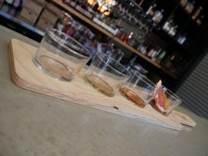 The tasting platter
