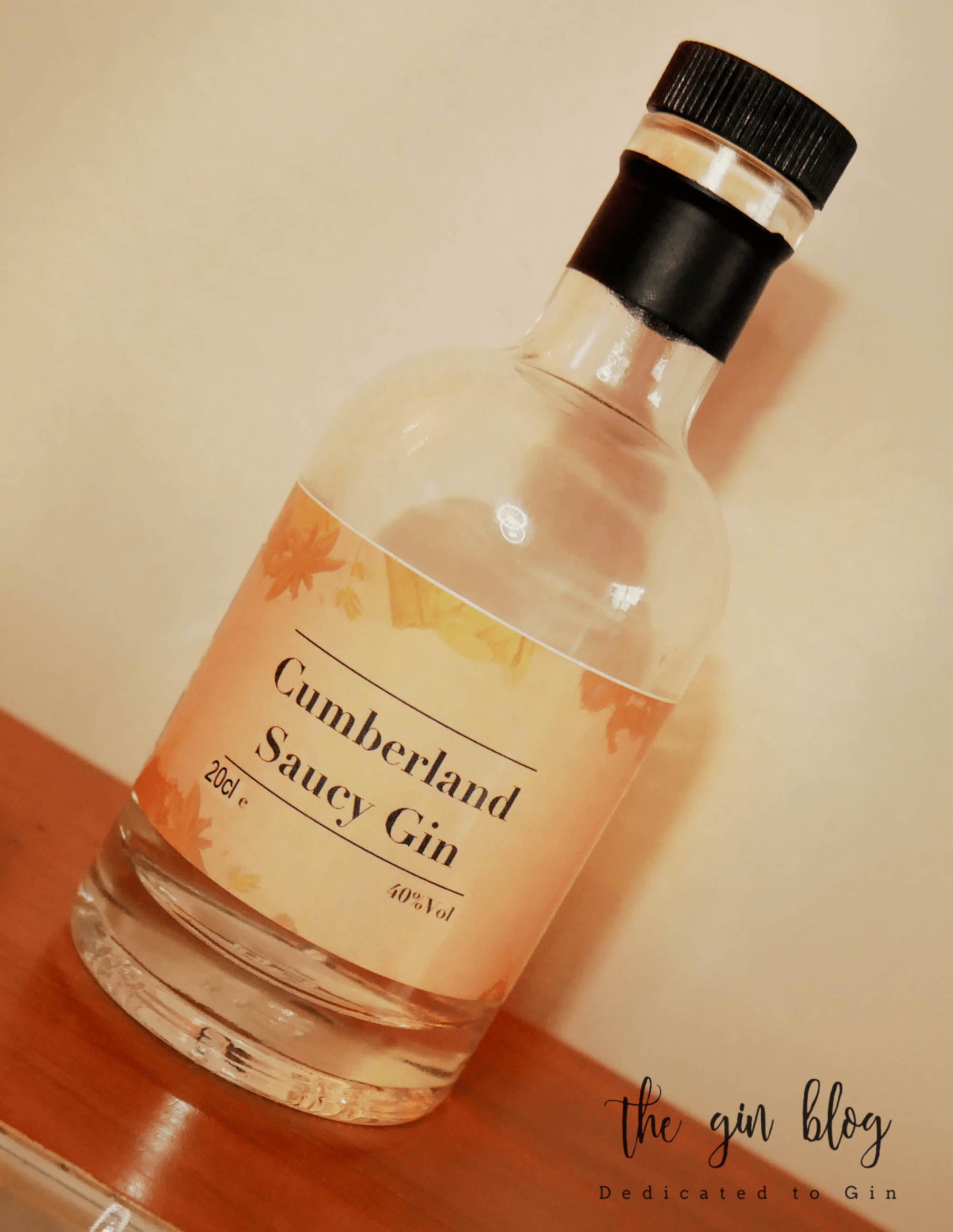 Cumberland Saucy Gin – fruity sauce meets piney juniper