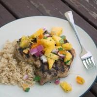 Spiced Pork Chops with Pineapple Salsa