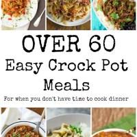 The BEST Weeknight Crock Pot Meals