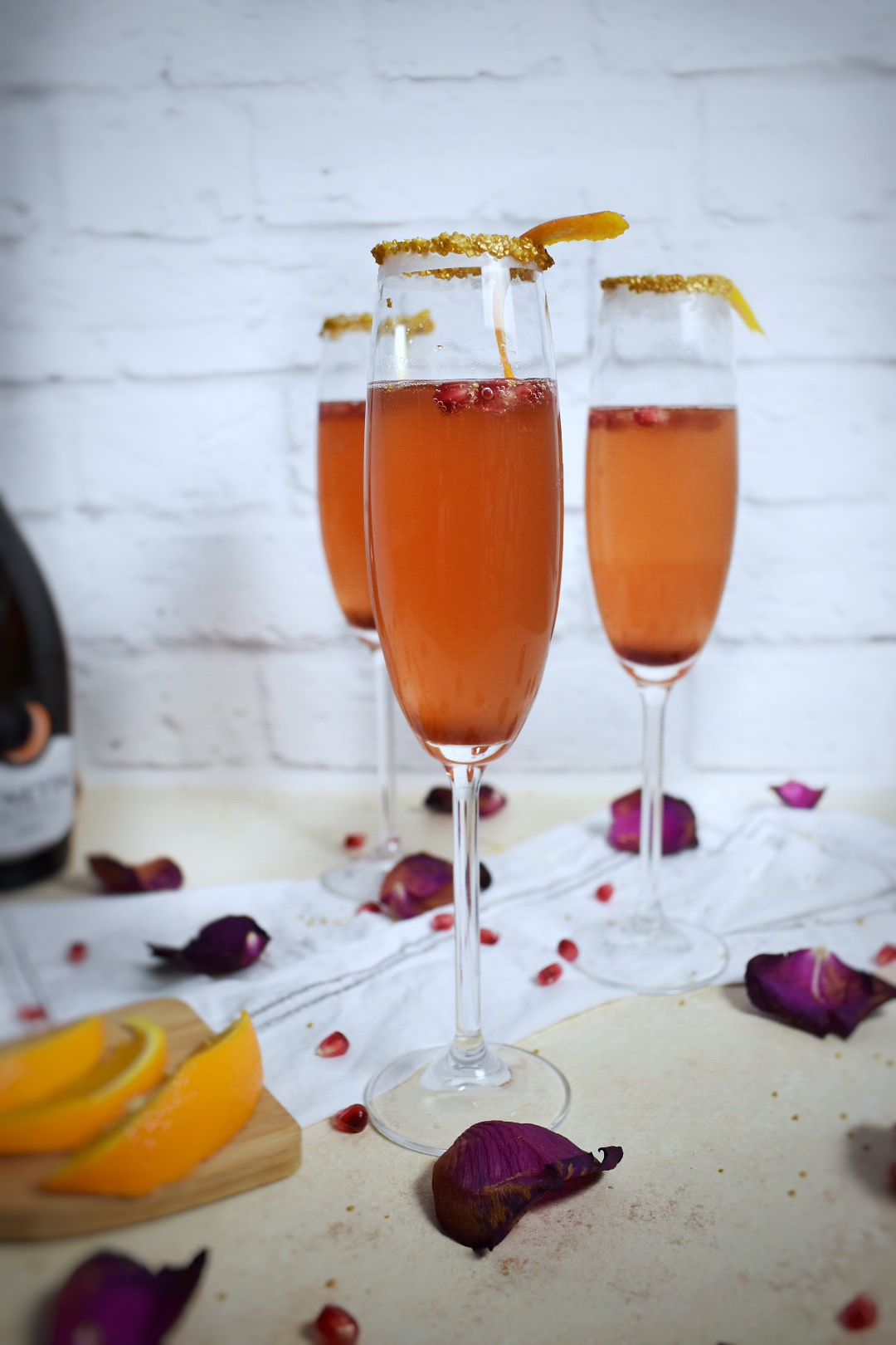 Champagne Cocktail Drink Recipe - New Years Eve