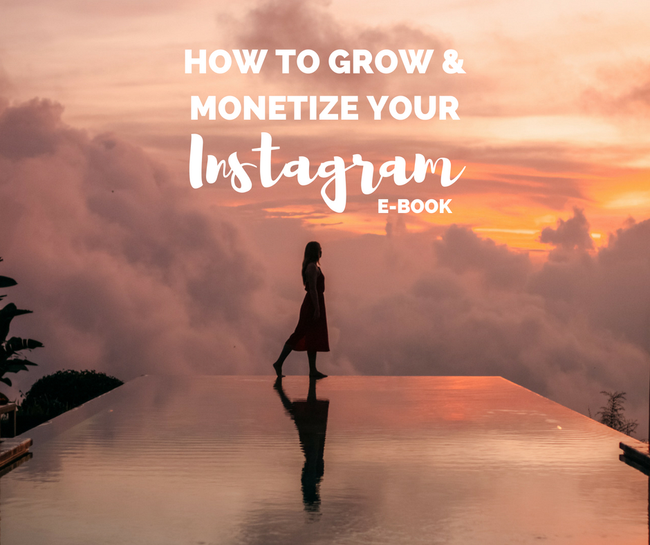 How to Grow & Monetize your Instagram - ebook - The Ginger