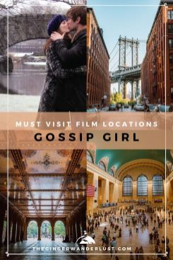 Being filmed over many iconic New York spots in both Manhattan and Brooklyn, Gossip Girl will inspire you to get out and explore NYC, even if you're a local! In this post you will find the best Gossip Girl Film Locations in New York City.