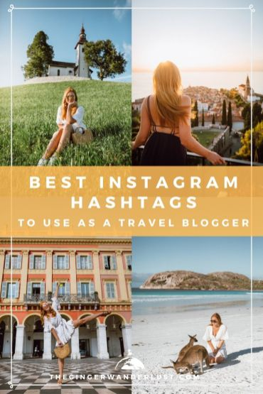 Hashtags on Instagram are really important in helping new people to discover your posts and thus your profile. I personally follow specific hashtags so that I can discover new content and accounts and I also search for hashtags when I am looking for travel or creative inspiration. Thanks to my hashtag strategy (and a few other tactics) I have been able to grow my Instagram page @thegingerwanderlust to over 85k followers. If you are looking to grow your Instagram then having an effective hashtag strategy is super important. As there are so many different hashtags out there I've decided to share the Best Instagram Hashtags to use as a Travel Blogger as well as some strategic tips.