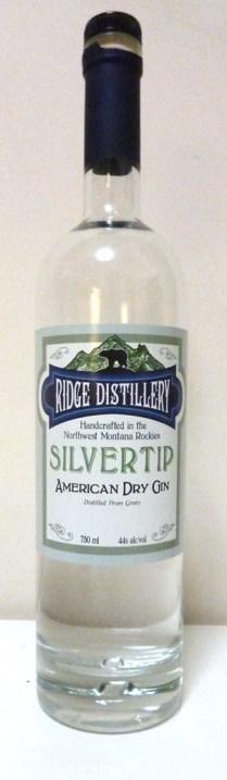 Ridge Distillery Silvertip Gin