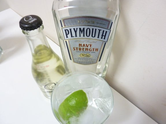Navy Strength Gin and Tonic