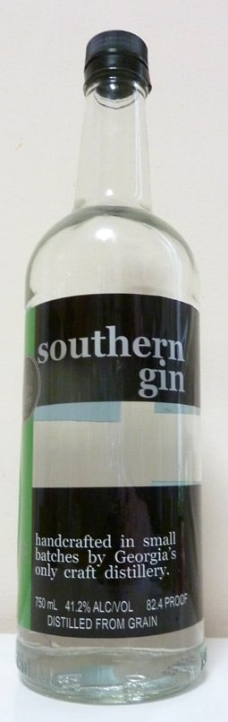 Bottle of Southern Gin
