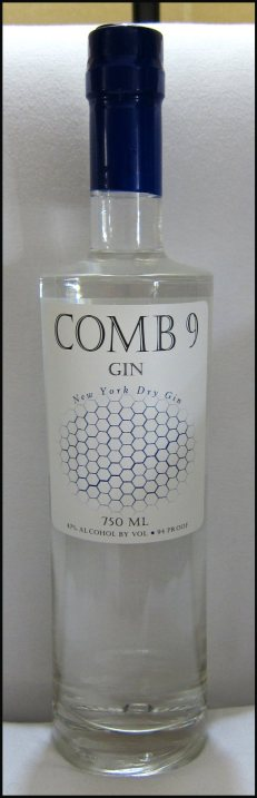 Comb 9 Gin Bottle