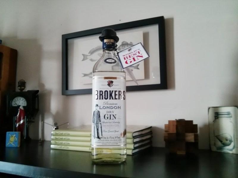 Broker's Gin Bottle