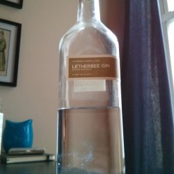 letherbee gin bottle