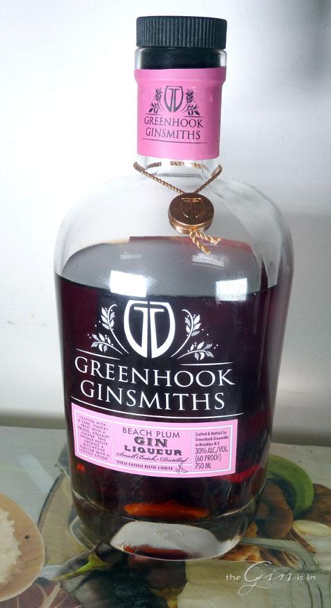 Greenhook Beach Plum Gin