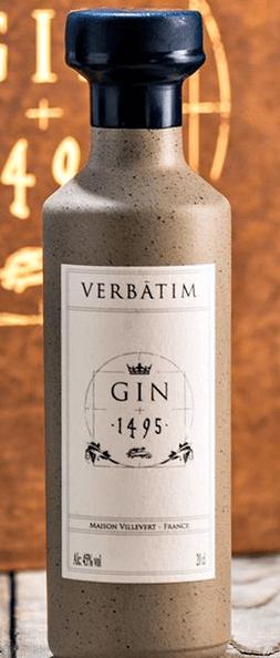 Gin 1495 Verbatim Bottle