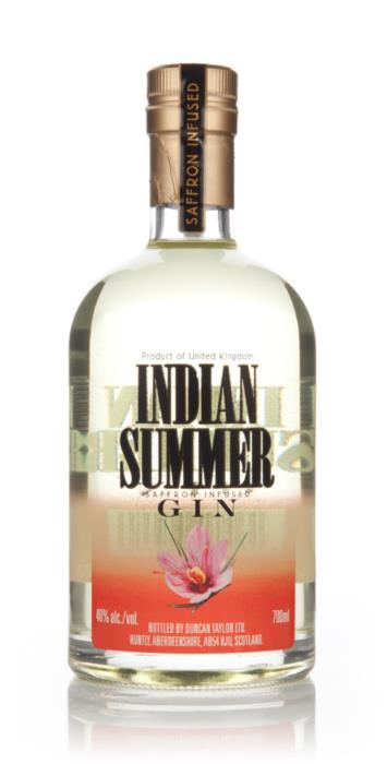 Indian Summer Saffron Infused Gin, Indian Summer Gin