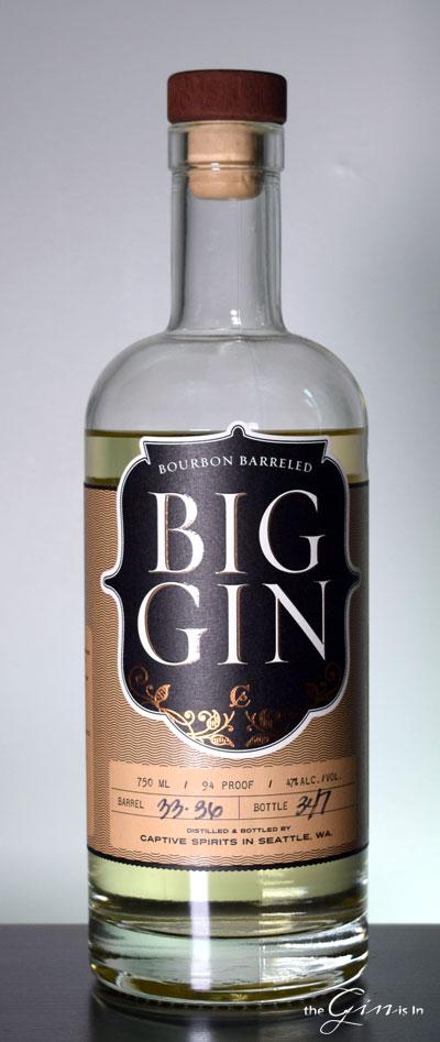 Bourbon Barreled Big Gin