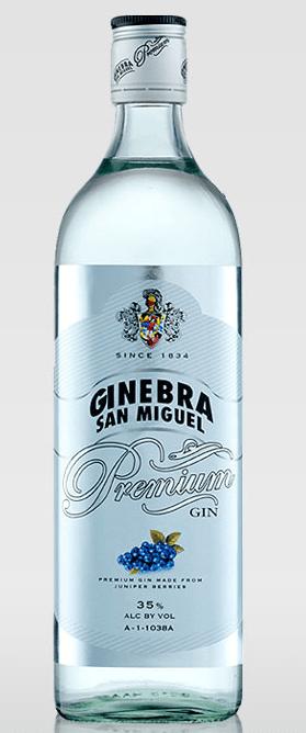 ginebra san miguel premium