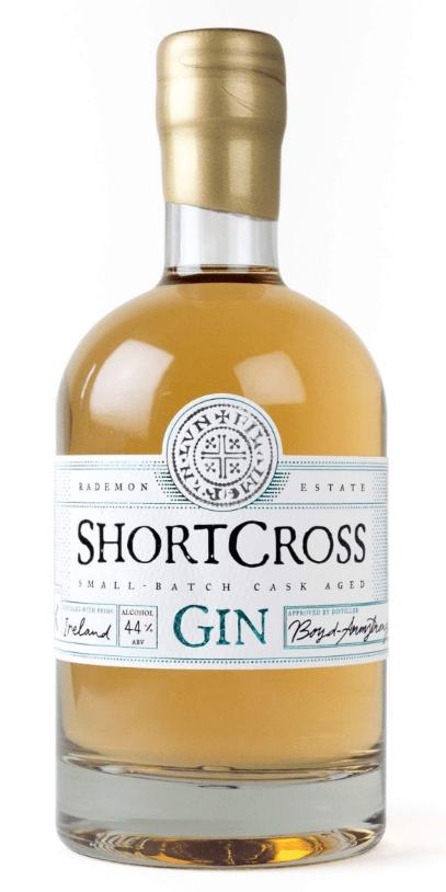 shortcross barrel aged gin