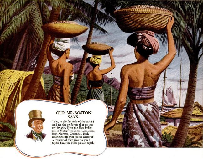 Old Mr. Boston Says, Life Magazine 1941